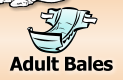 Adult Diaper Bales